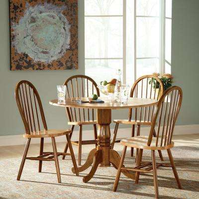 windsor kitchen chairs recliner leather sale dining room furniture the home cinnamon and espresso wood spindle back chair