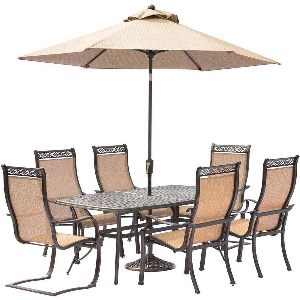Umbrella Set Outdoor Table