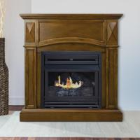 Pleasant Hearth Compact 36 in. Vent-Free Gas Fireplace in ...