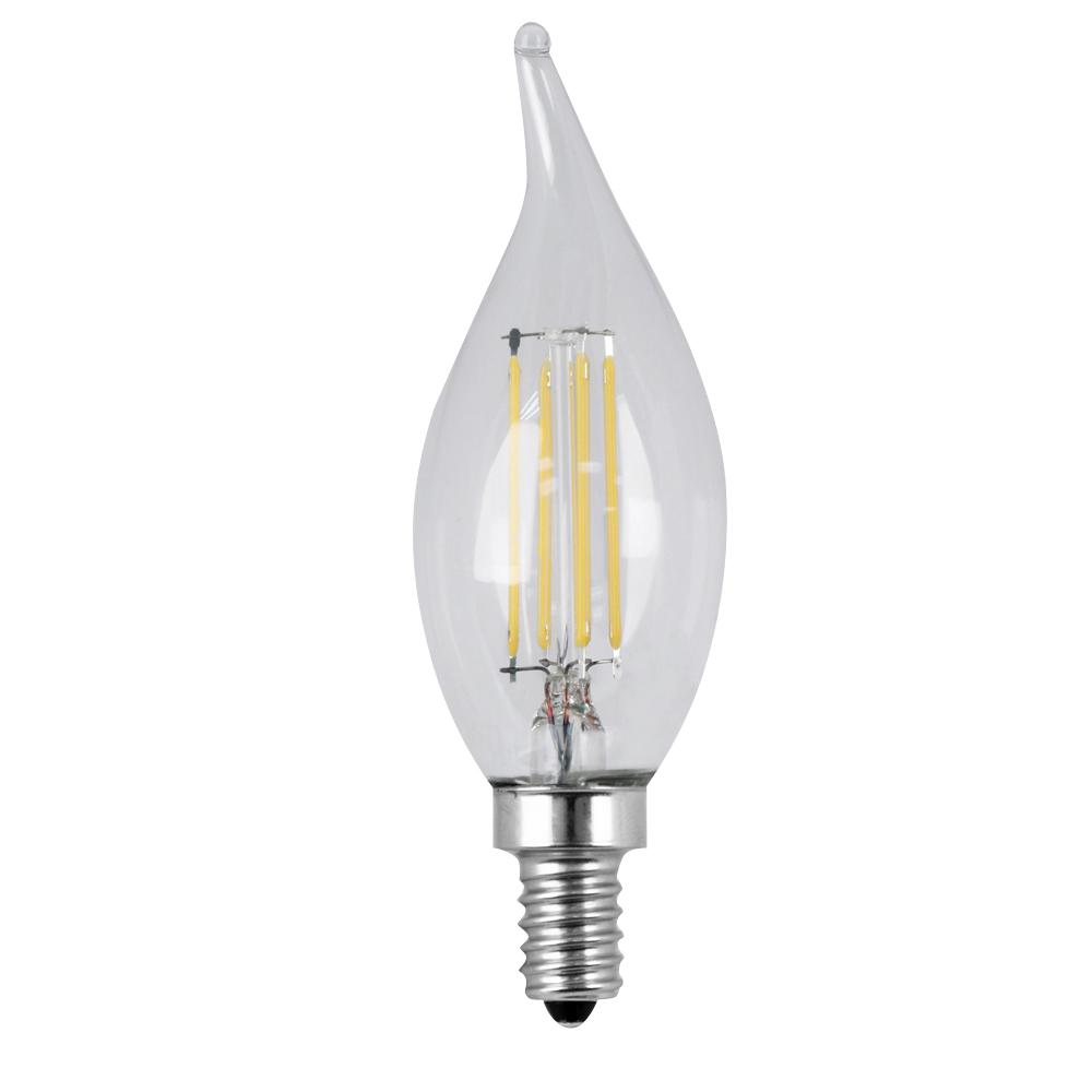 Feit Electric 40W Equivalent Daylight CA10 Dimmable Clear