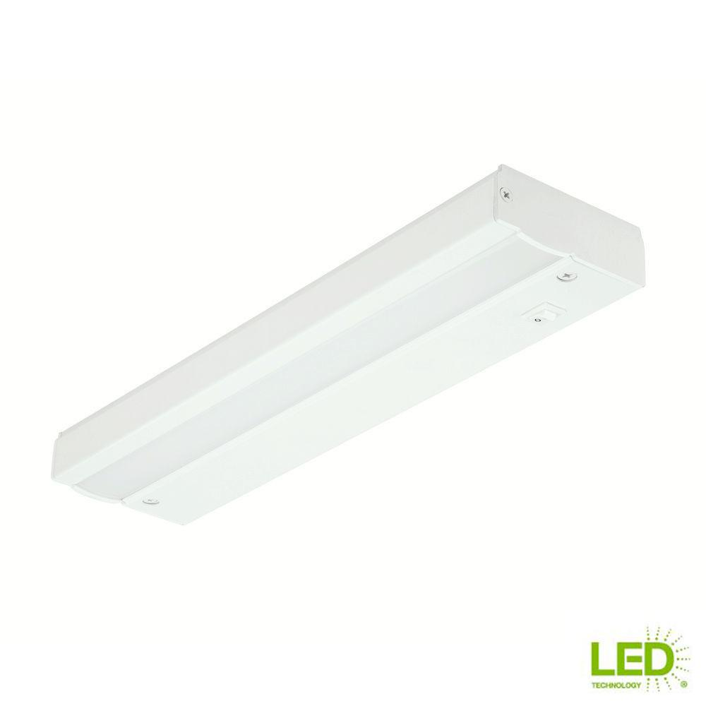 medium resolution of commercial electric 12 in white led direct wire under cabinet lightwhite led direct wire under cabinet