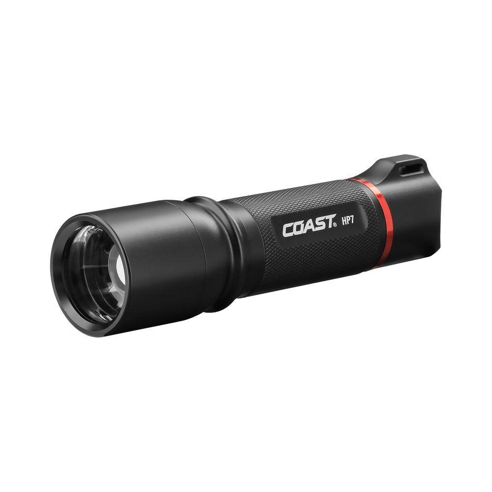 medium resolution of coast hp7 410 lumen led flashlight with slide focus