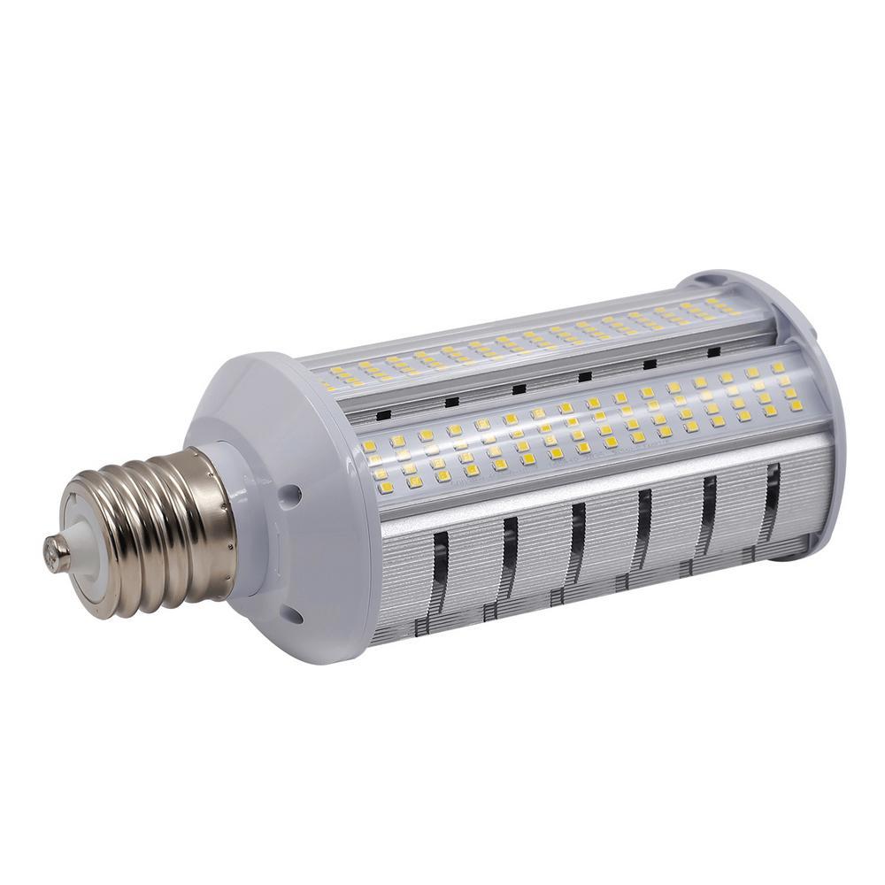 hight resolution of 175 watt equivalent 40 watt corn cob ed17 led wall pack horizontal bypass light bulb mog 120 277v daylight 5000k 84029
