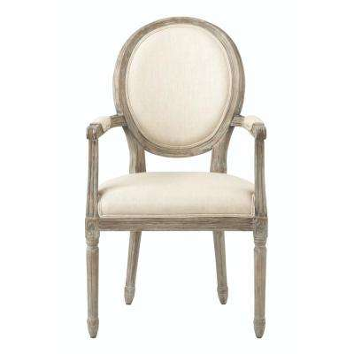 chairs for kitchen wooden stools arm chair 19 beige dining room jacques antique brown natural linen