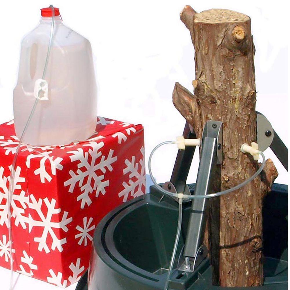 General Foam 65 Ft Pre Lit Siberian Frosted Pine
