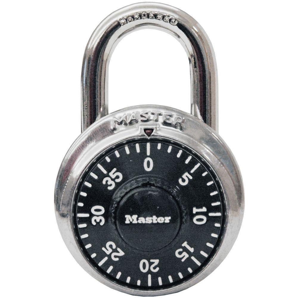 Master Lock Preset 3Digit Dial Combination Padlock