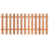 Outdoor Essentials 3-1/2 ft. x 8 ft. Western Red Cedar ...