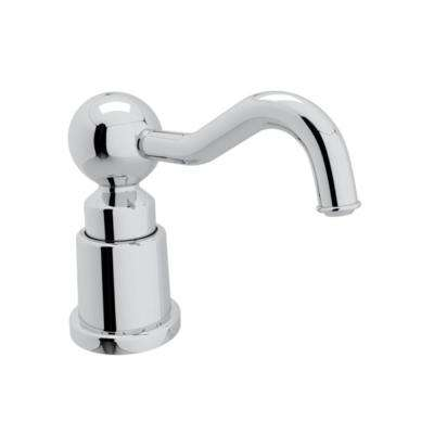 rohl kitchen faucet tile colors for floor faucets the home depot luxury italian soap lotion dispenser in polished chrome