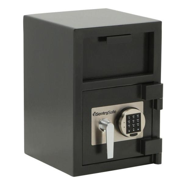 Sentrysafe Dh-074e 0.94 Cu Ft Depository Safe With Digital Keypad-dh-074e - Home Depot