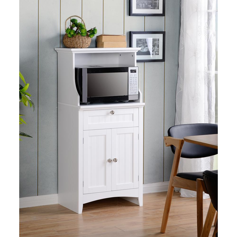 Best Kitchen Gallery: Microwave Cart Carts Islands Utility Tables Kitchen The of Kitchen Microwave Stands on rachelxblog.com