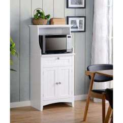 Kitchen Microwave Cabinet Curtains Sets Cart Carts Islands Utility Tables Dining Os Home And Office White Coffee Maker