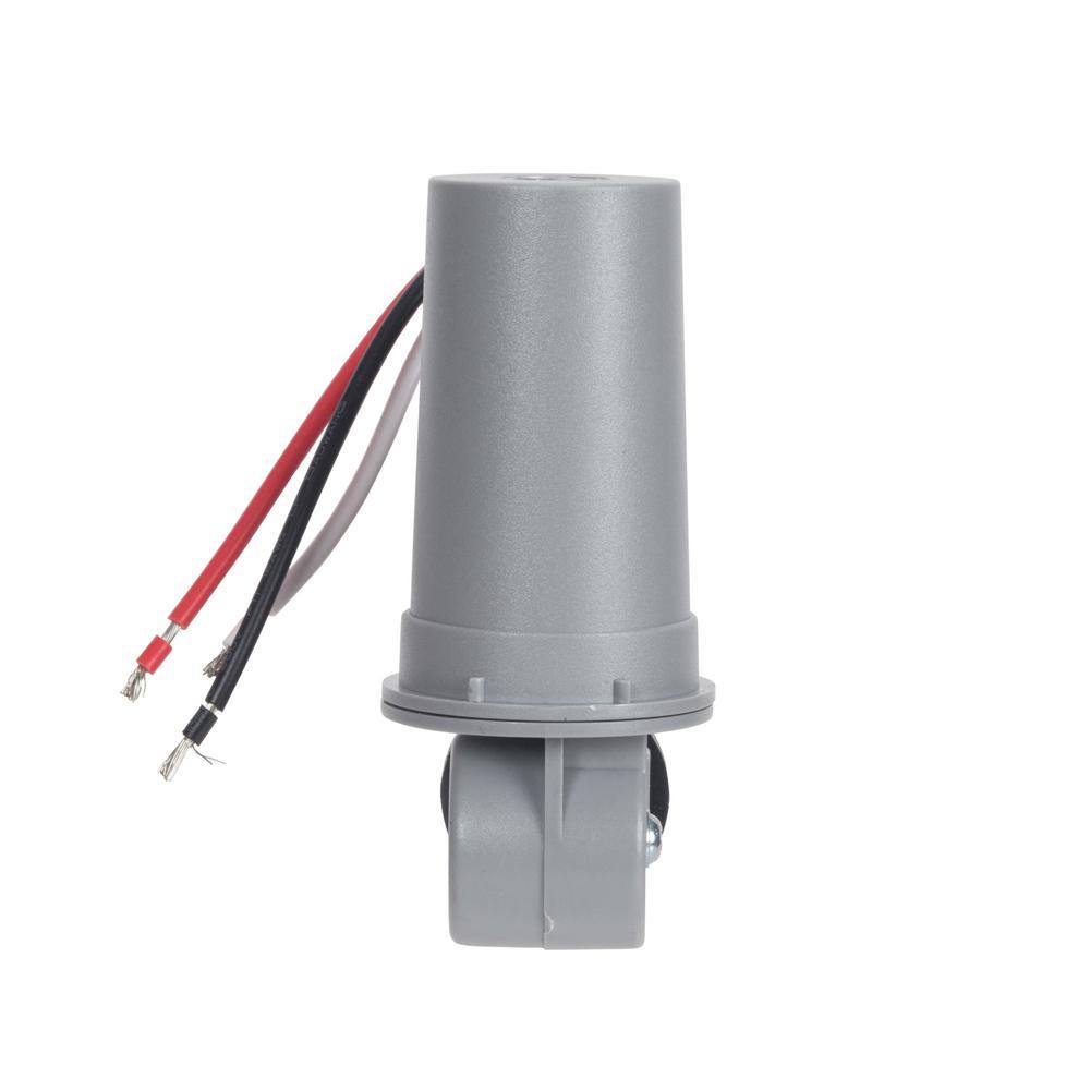 medium resolution of 208 277v conduit mount in lexan housing photo control