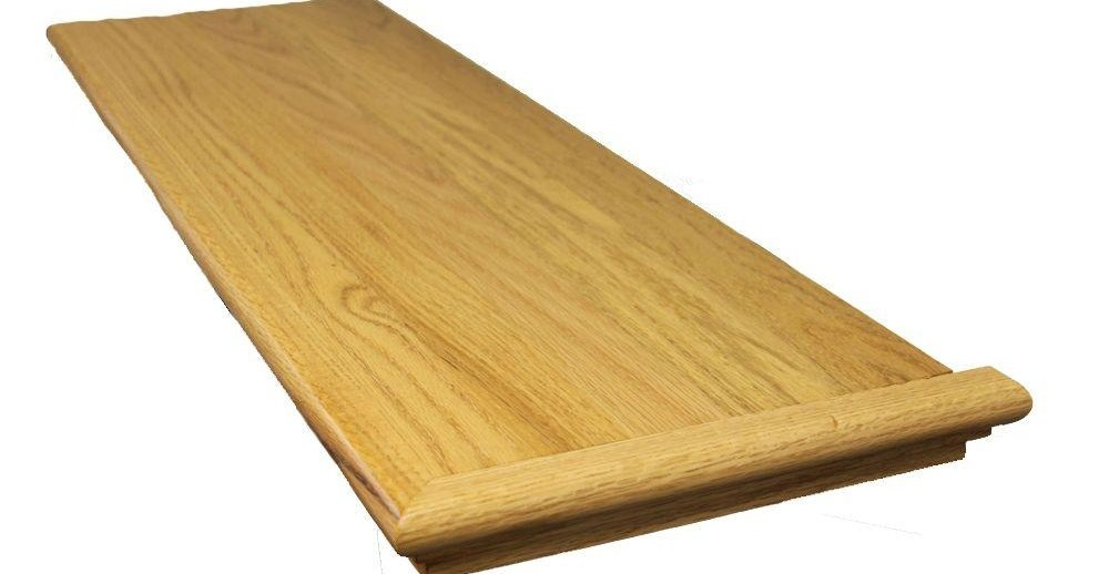 Stairtek 625 In X 11 5 In X 48 In Prefinished Natural | Oak Stair Treads At Home Depot