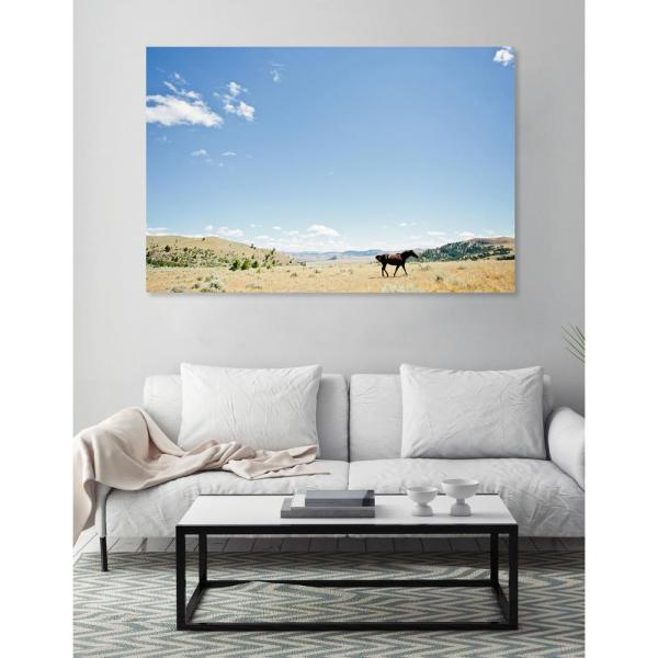 """Oliver Gal Artist . 45 In. X 30 """"chase Horse"""