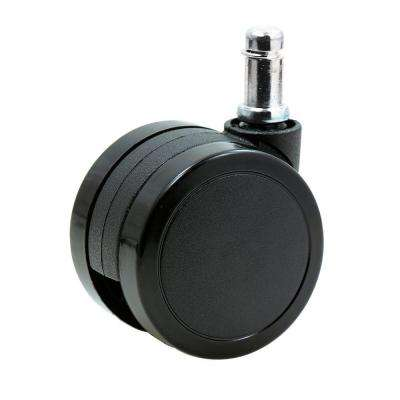desk chair casters wall beds with 5 furniture accessories replacement parts the home depot 2 3 8 in office caster