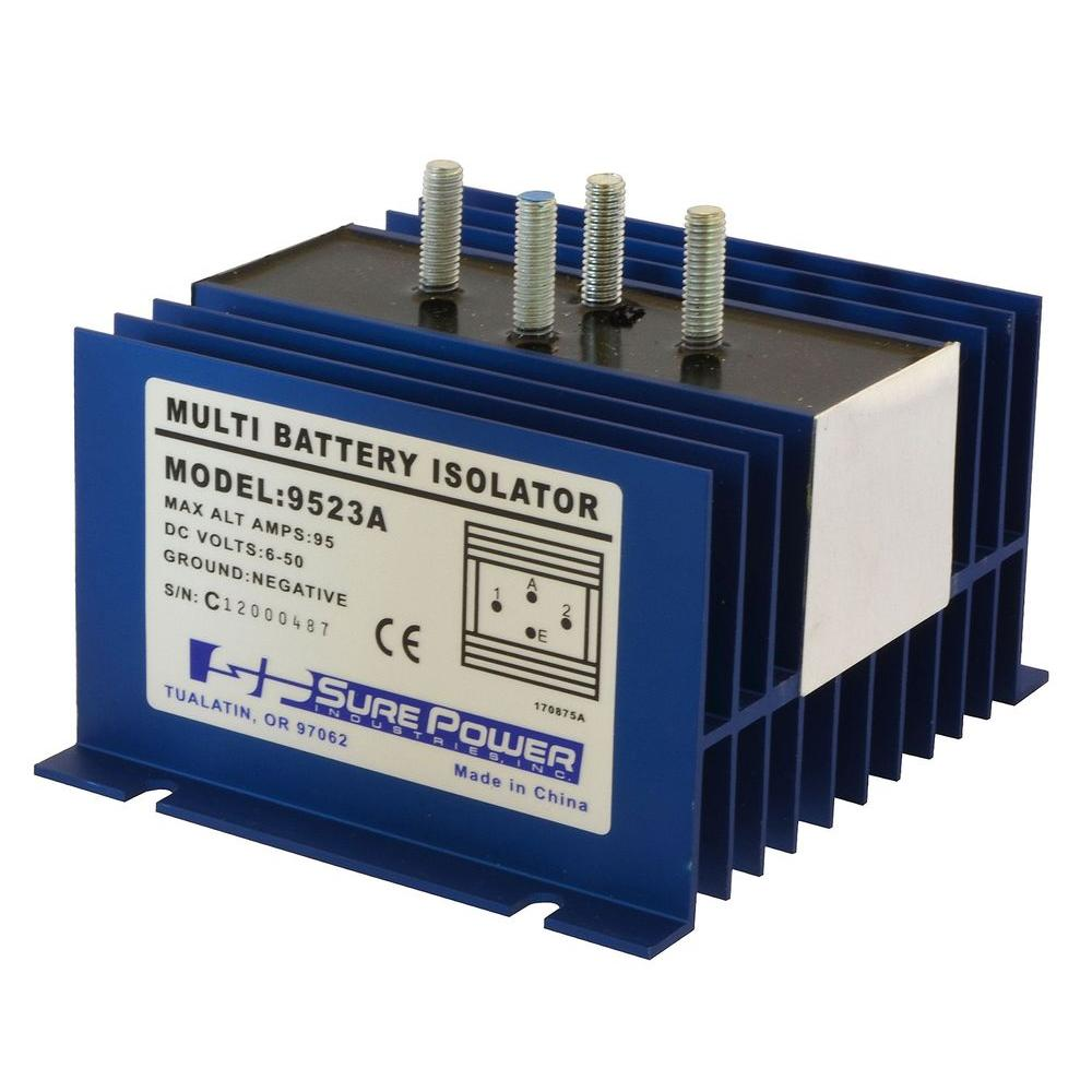 hight resolution of 95 amp battery isolator with wiring kit