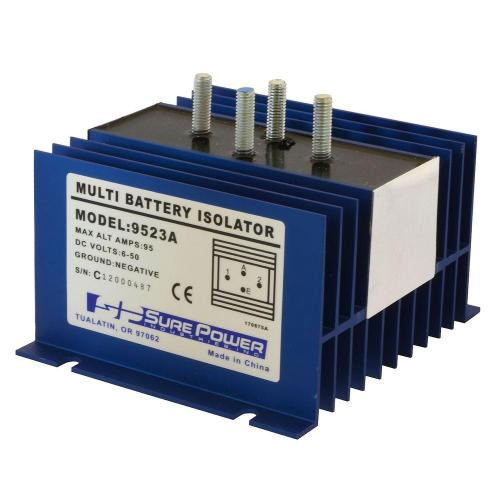 small resolution of 95 amp battery isolator with wiring kit