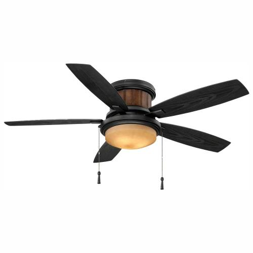 small resolution of led indoor outdoor natural iron ceiling fan with light kit