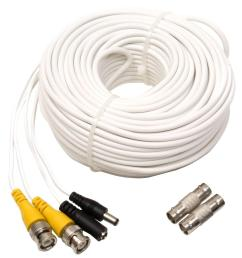 q see 100 ft video and power bnc male cable with 2 female connector vga cable wiring diagram bnc dvi wiring [ 1000 x 1000 Pixel ]