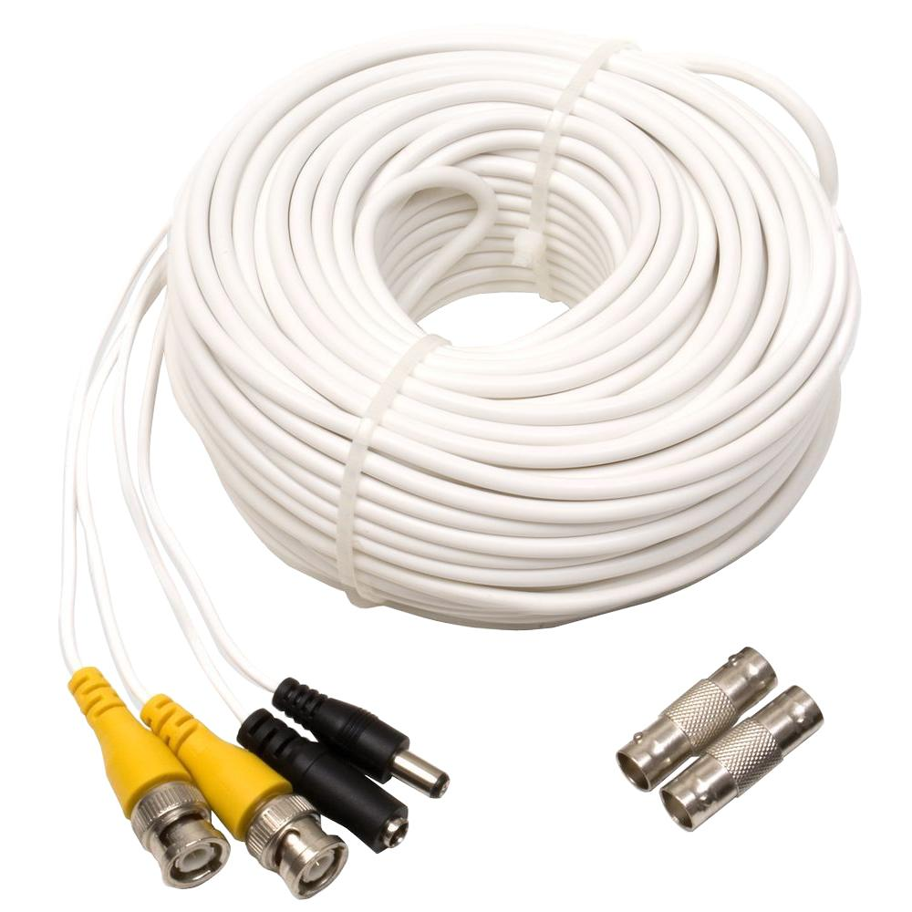 medium resolution of q see 100 ft video and power bnc male cable with 2 female connector vga cable wiring diagram bnc dvi wiring