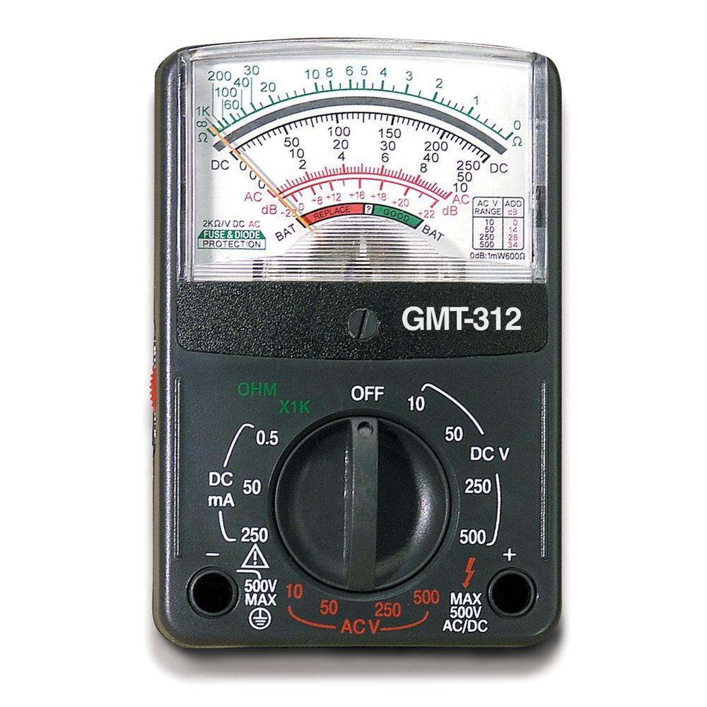hight resolution of gardner bender 5 function 12 range analog multimeter