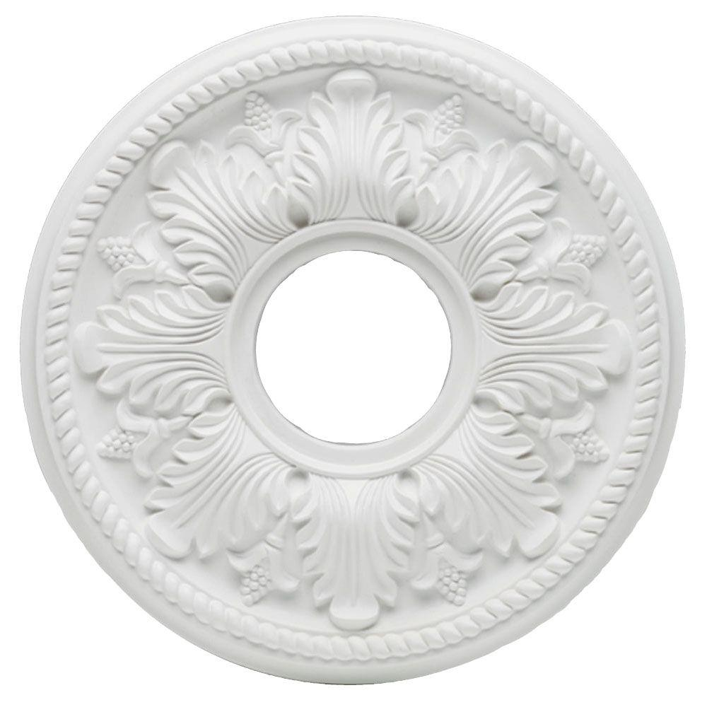 Westinghouse Bellezza 14 in. White Ceiling Medallion