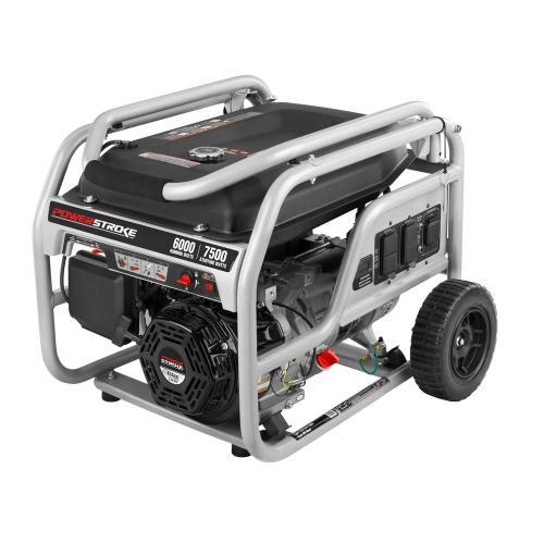 small resolution of 6 000 running watt gasoline powered portable generator
