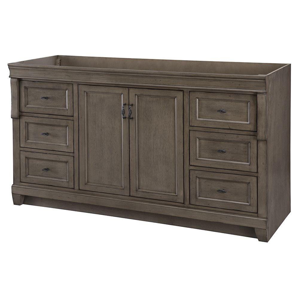 Best Kitchen Gallery: Home Decorators Collection Naples 60 In W Bath Vanity Cabi Only of Bathroom Vanities Cabinets on rachelxblog.com