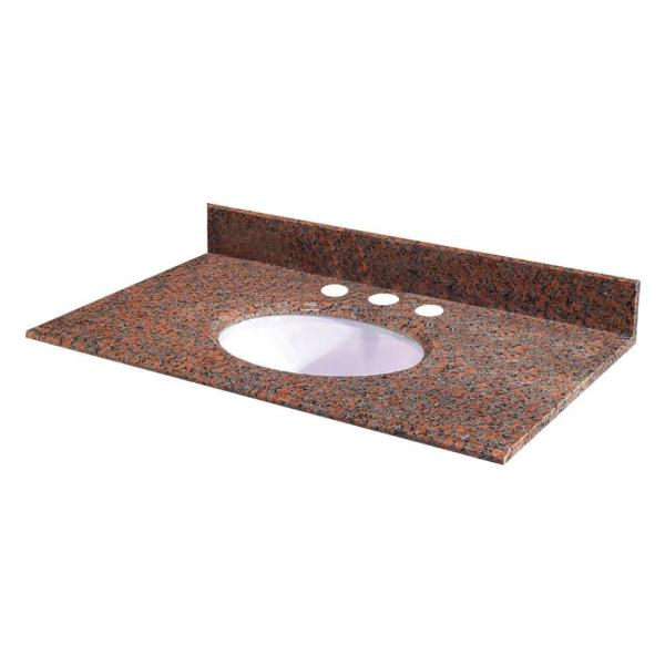 Home Depot Granite Vanity Tops