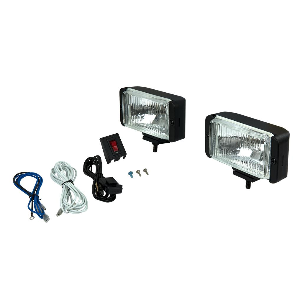 medium resolution of rectangular halogen driving light kit
