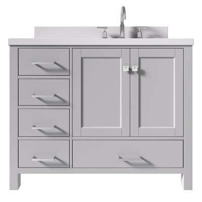 30 inch bathroom vanity with right