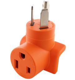 ac works ac connectors nema 10 30 3 prong dryer plug to 6  [ 1000 x 1000 Pixel ]