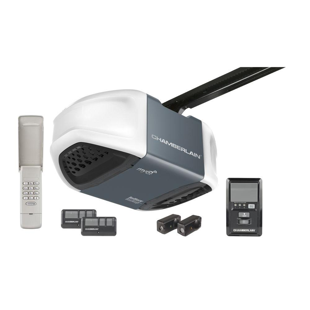 Chamberlain Whisper Drive 34 HP Garage Door Opener with MyQ Technology and Battery Backup