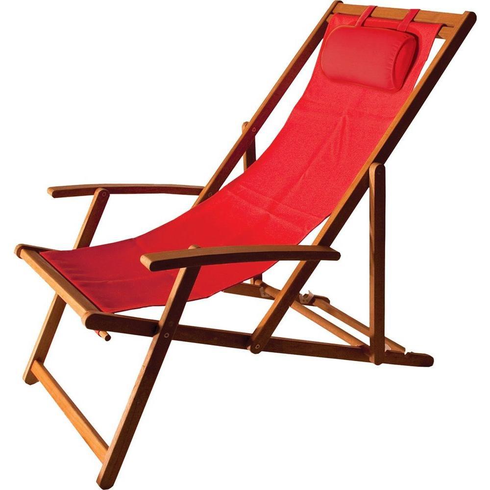 Arboria Islander Folding Sling Patio Chair8801303  The