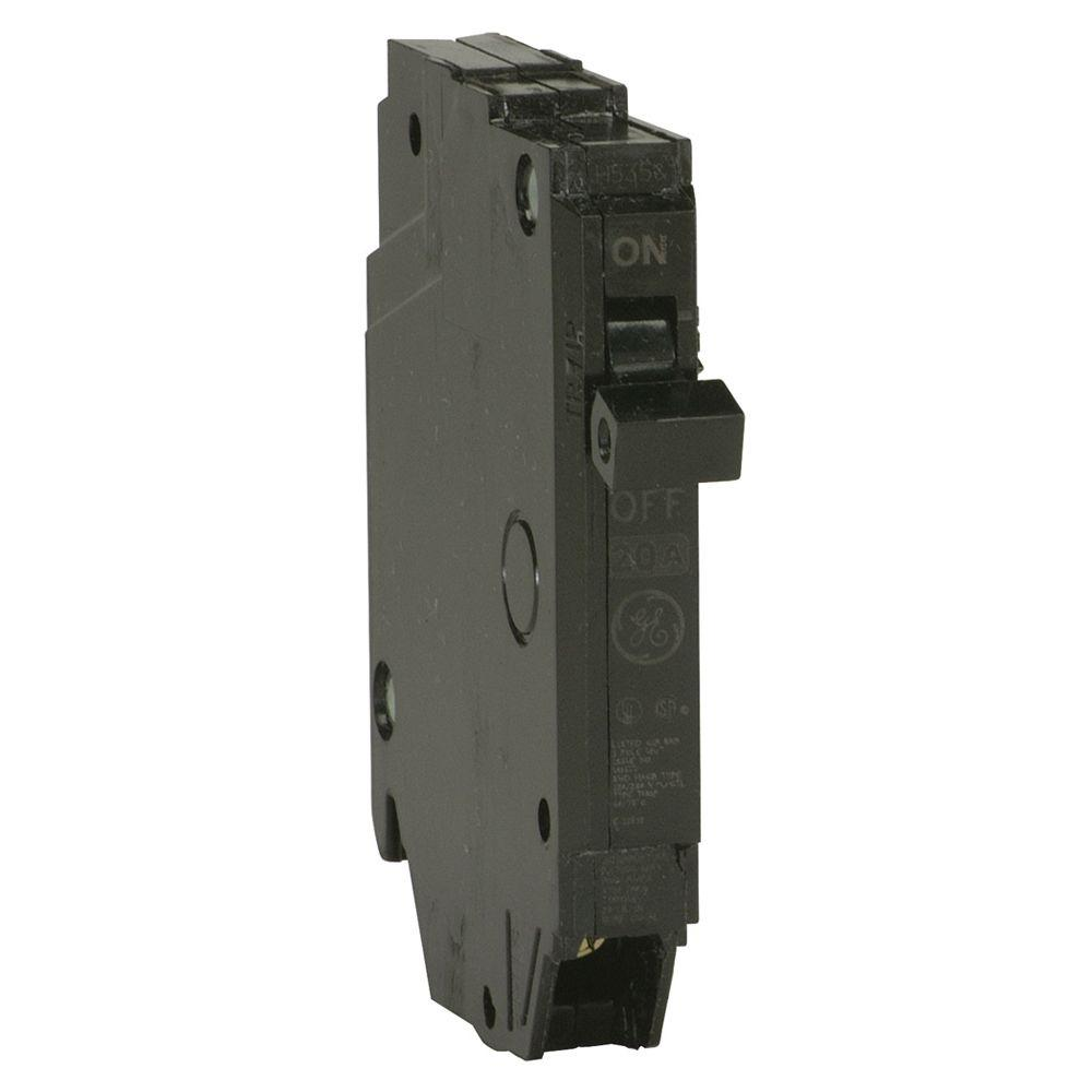 medium resolution of ge q line 20 amp 1 2 in single pole circuit breaker ge circuit breaker types ge breaker box diagram