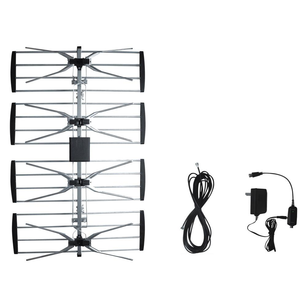 Electronic Master Outdoor TV Antenna with Booster-ANT2092