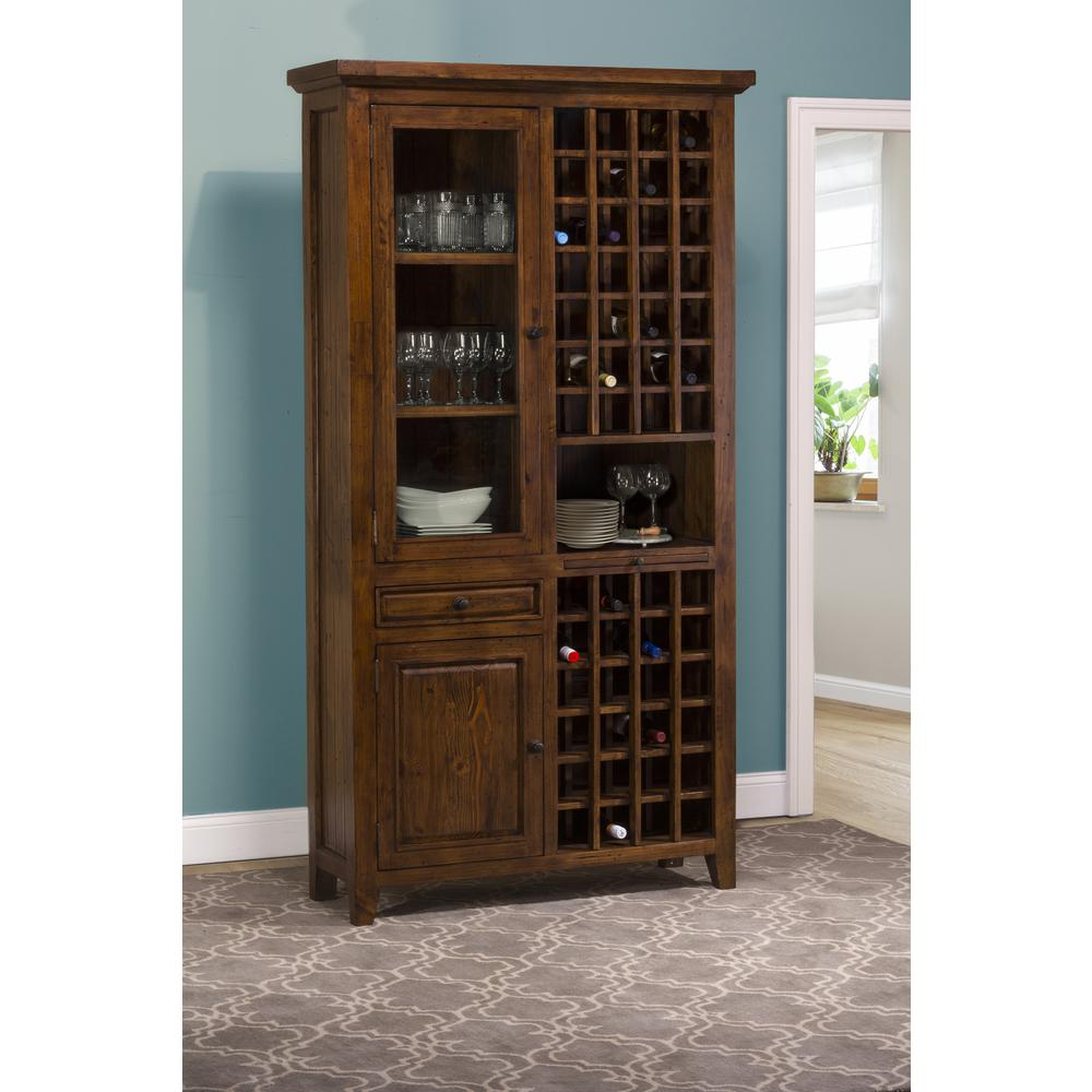Antique Wine Cabinet