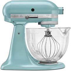 Kitchen Aid 5 Qt Mixer Wine Decor Sets Kitchenaid Artisan Designer Azure Blue Stand Ksm155gbaz