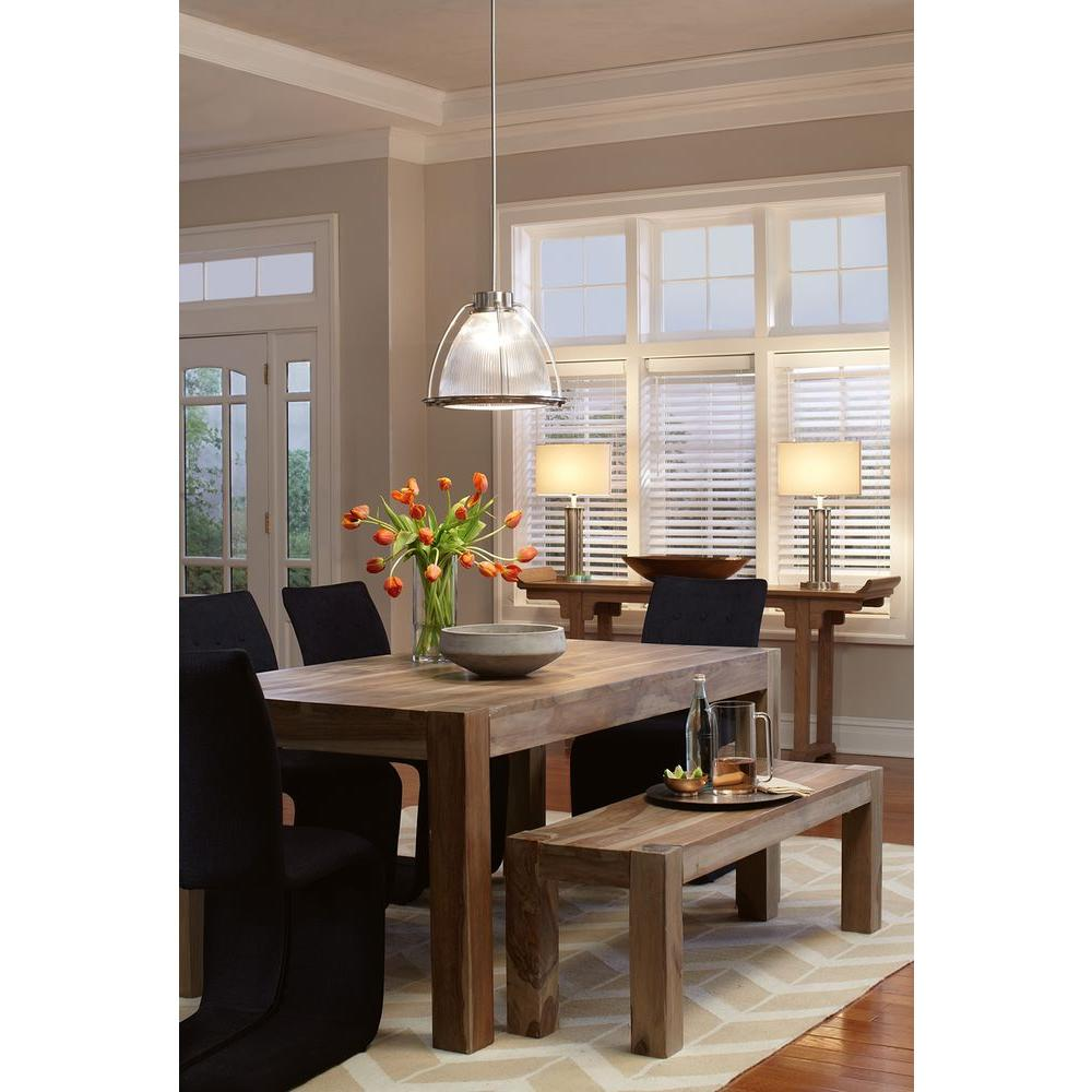 Home Decorators Collection Edmund Smoke Grey Dining Table1514000980  The Home Depot