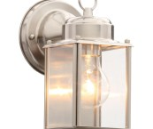 nickel outdoor lighting fixtures