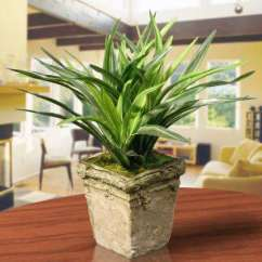 Artificial Plants For Living Room Small With Corner Sofa Ideas Flowers Home Decor The Depot 9 In