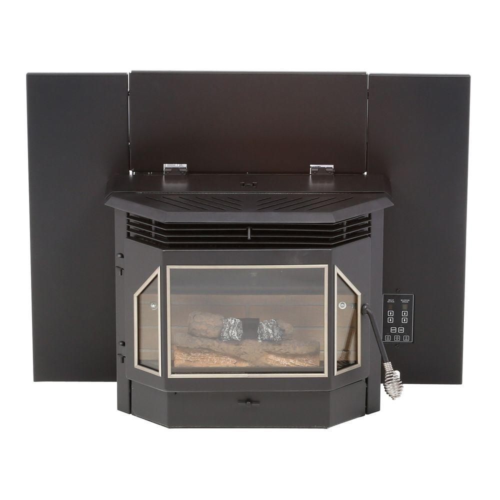 medium resolution of pellet burning fireplace insert
