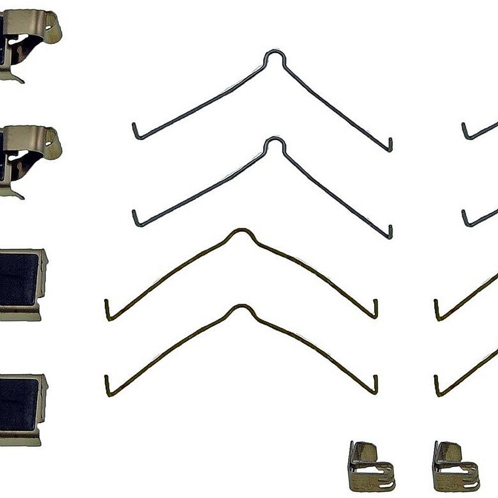 medium resolution of front disc brake hardware kit fits 1991 2000 toyota camry corolla mr2