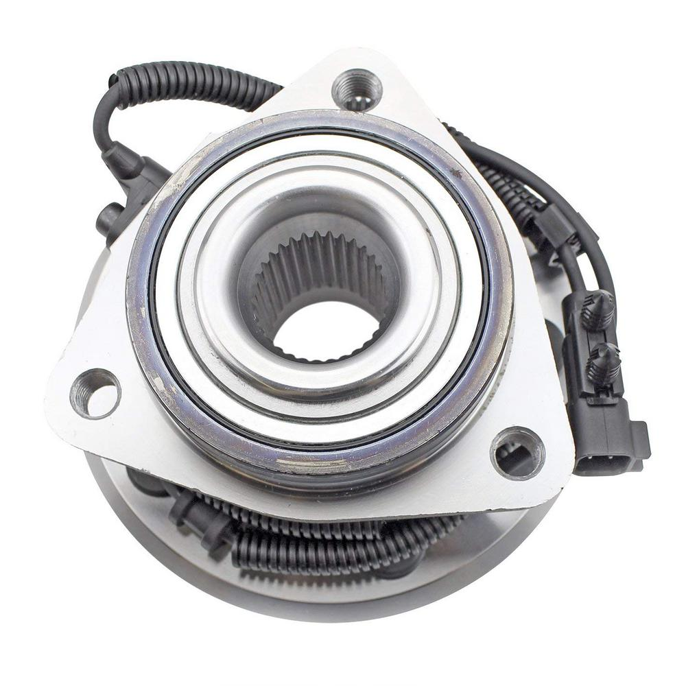 medium resolution of wheel bearing and hub assembly front
