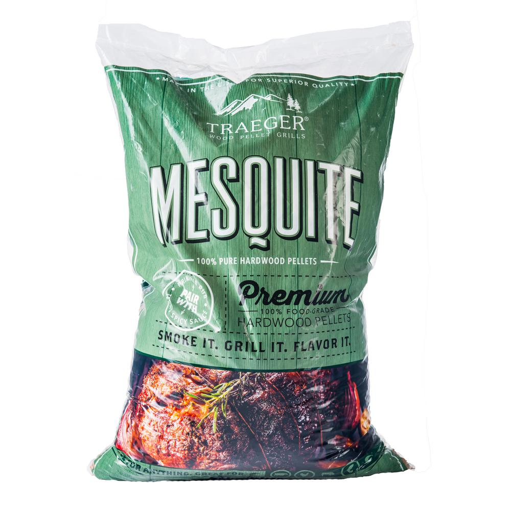 medium resolution of traeger 20 lb mesquite wood pellets