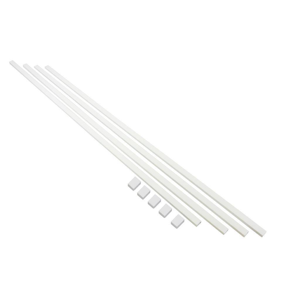 EasyLife Tech 16 ft. Cable Raceway Kit for Concealing and