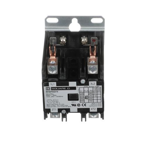 small resolution of 40 amp 24 volt ac 2 pole open definite purpose contactor 20 pack