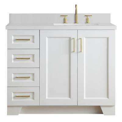 48 inch bathroom vanity with right