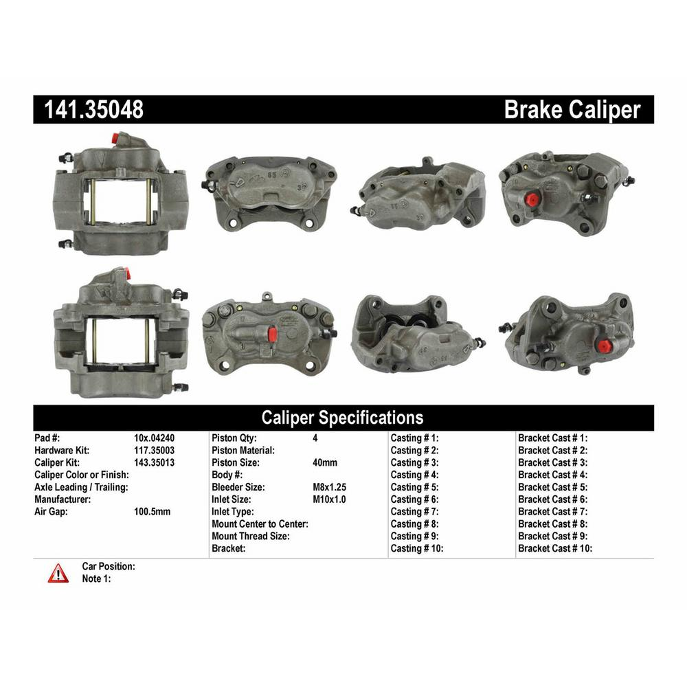 Mercedes G-Class Brake Caliper, Brake Caliper for Mercedes