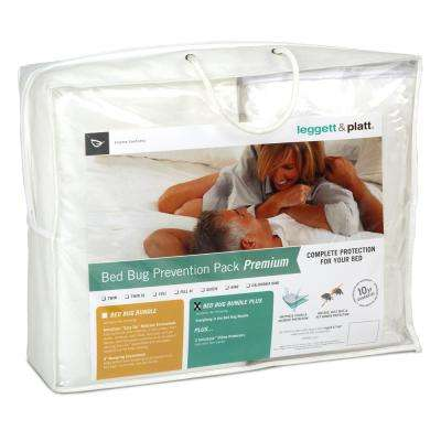 Premium Bed Bug Prevention Pack With Invisicase Easy Zip Mattress And Box Spring Encat Bundle Full